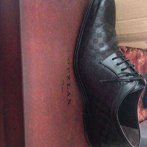 Mezlan Kubo Black Dress Shoes